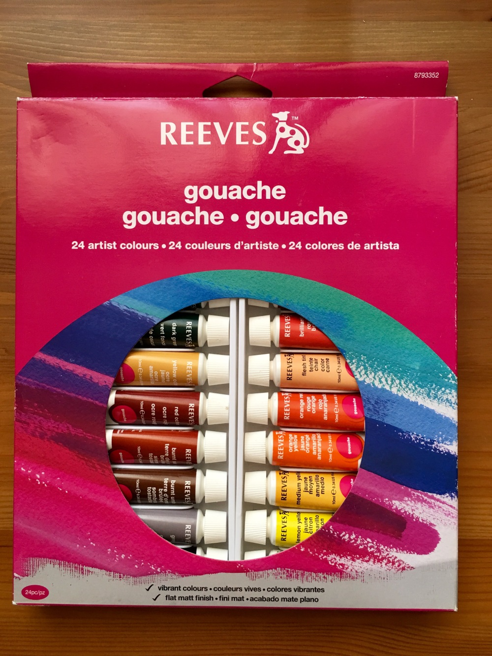 Reeves gouache