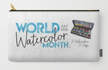World Watercolor Month July 2016 Society6 Collection Shop Now