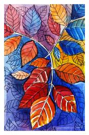 Doodlewash by Anupriya Arvind leaves