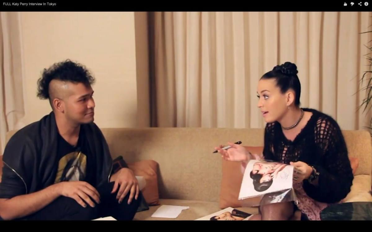 Doodlewash Feature - Yoa Khaun and Katy Perry