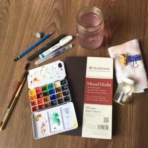 #Doodlewash - #Watercolor by Sarah Ongsun - art supplies - #WorldWatercolorGroup