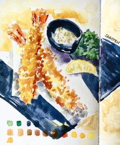 #Doodlewash - #Watercolor by Sarah Ongsun - tempura - #WorldWatercolorGroup