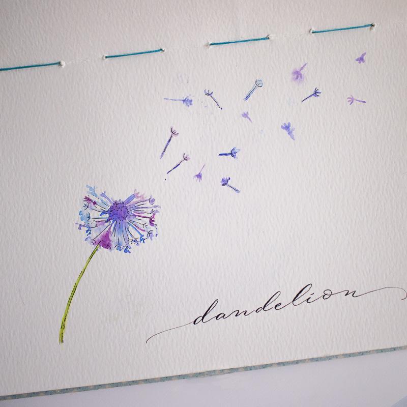 #Doodlewash - Watercolor by Sharmini Markandu - dandelion - #WorldWatercolorGroup