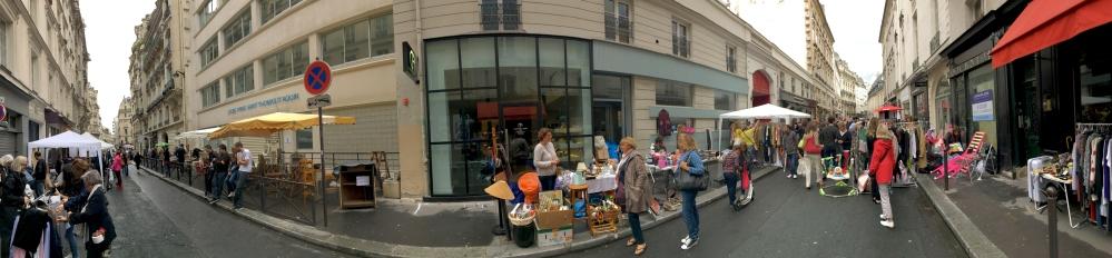 marché aux puces Paris France