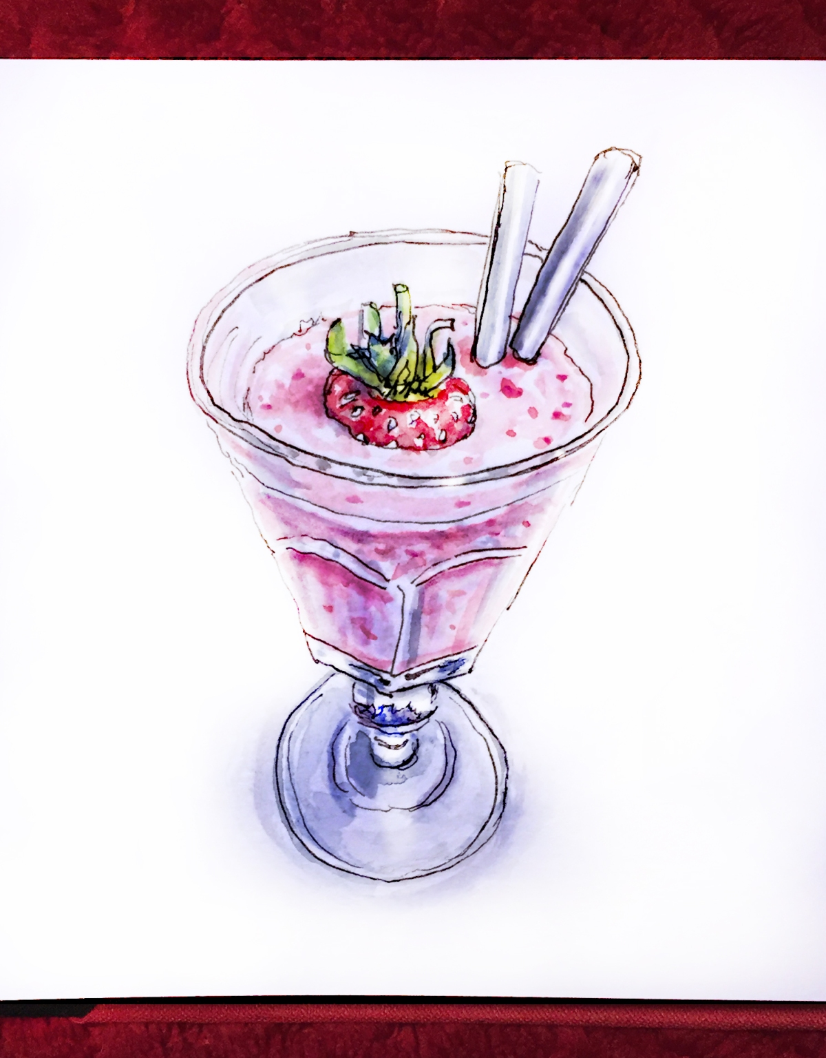 day-25-strawberry-smoothie
