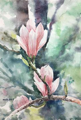 #WorldWatercolorGroup - Watercolor by Brian Tai - #doodlewash
