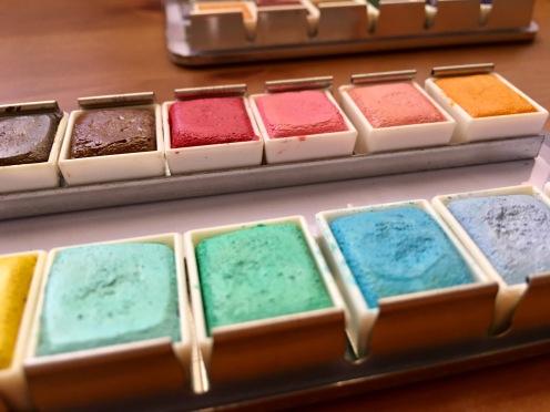 Prima Marketing watercolor confections pastel dreams watercolor pans