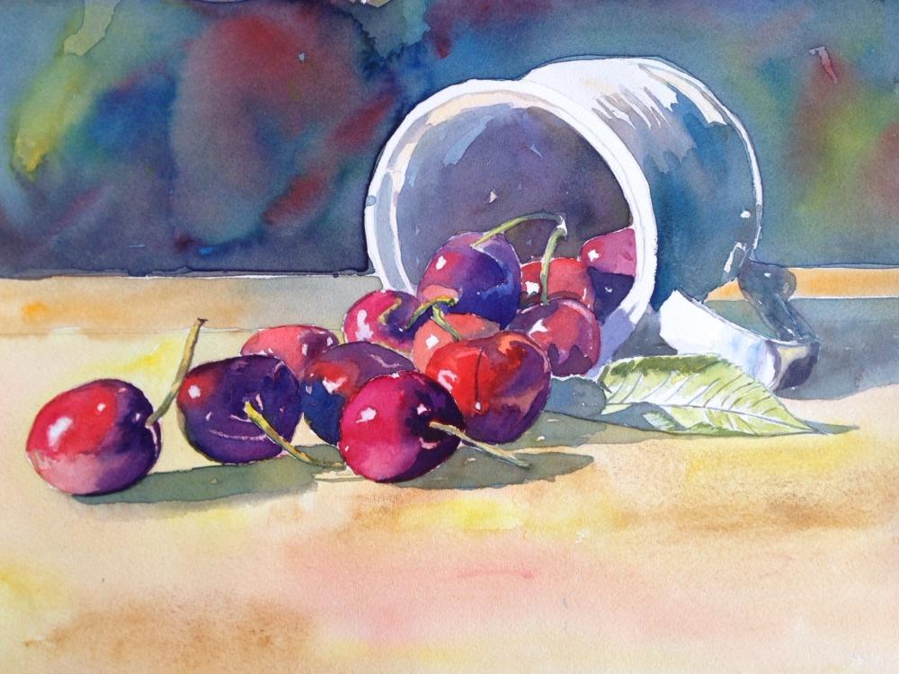 #WorldWatercolorGroup - Watercolor painting By Dermot Brennan - #doodlewash