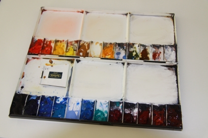 #WorldWatercolorGroup - Watercolor Palette of Jan Min - #doodlewash