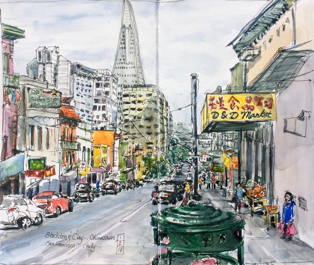 #WorldWatercolorGroup - Watercolor by Leslie Rich - #doodlewash