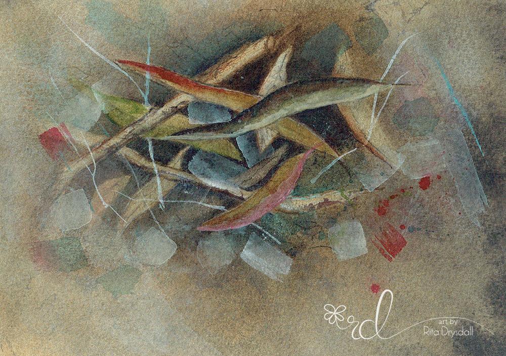 #WorldWatercolorGroup - Painting By Rita Drysdall - #doodlewash