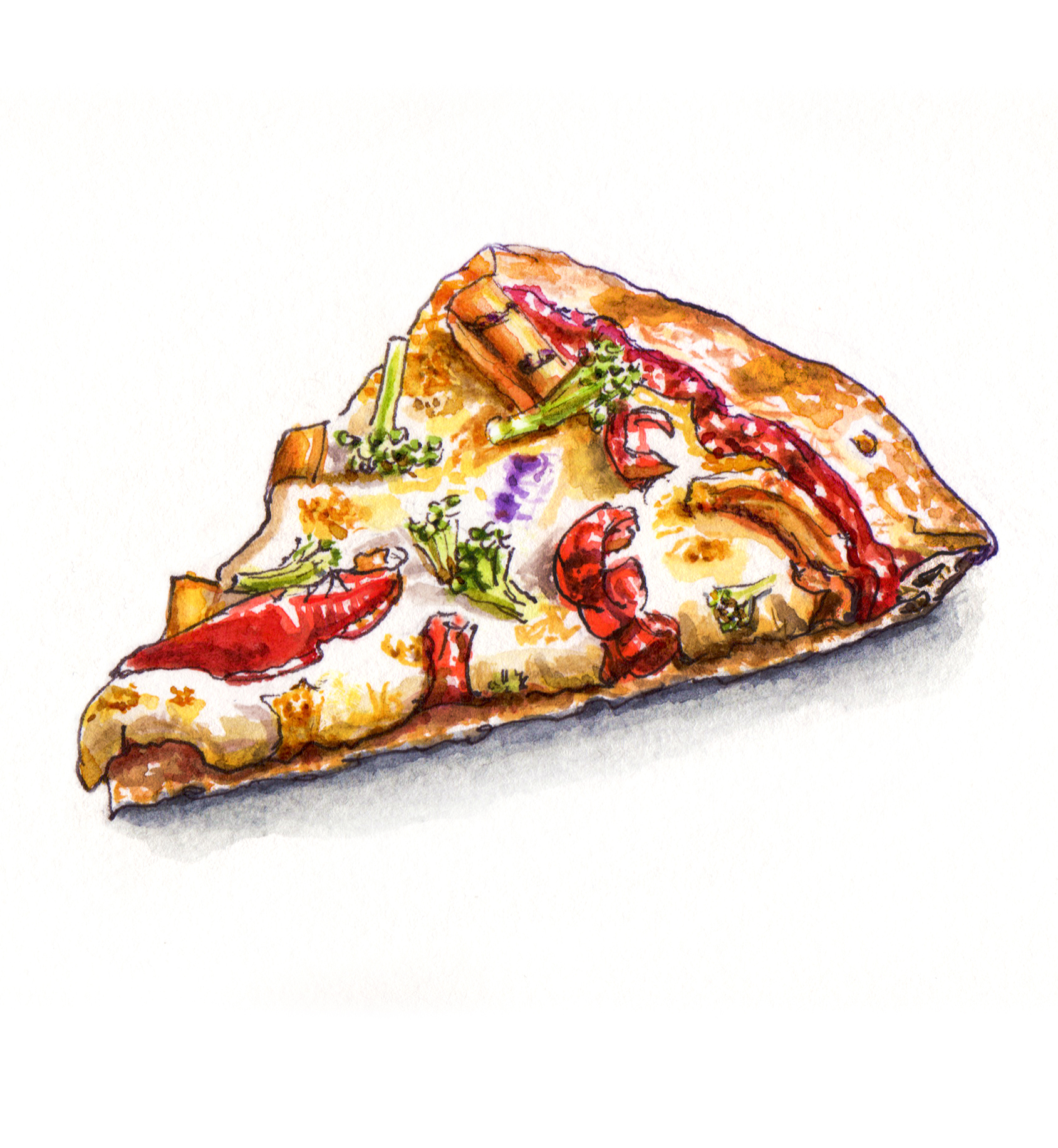 Easy Crescent Veggie Pizza Recipe - Pillsbury.com