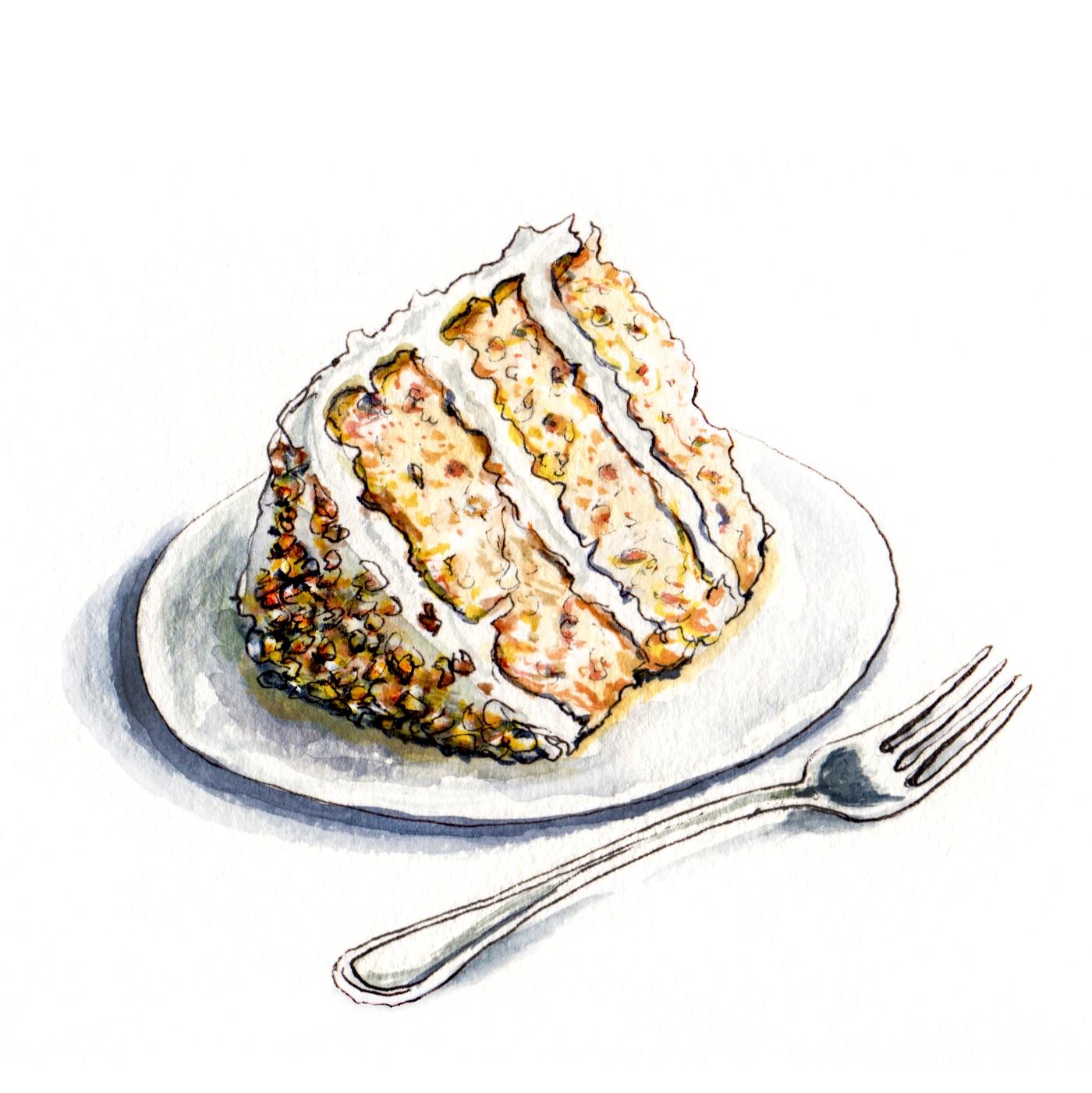 doodlewash hummingbird cake
