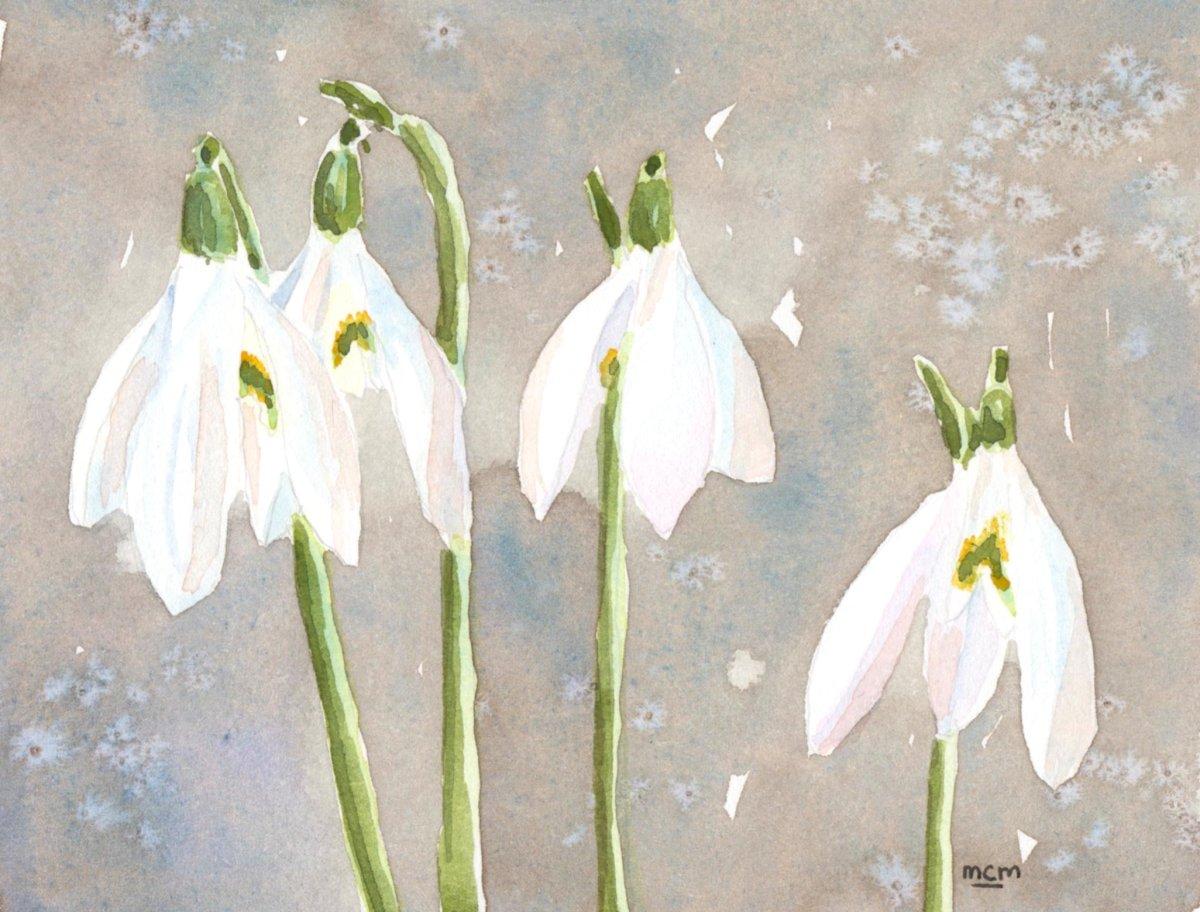 #WorldWatercolorGroup - Watercolor by Cristina Mazzoni - flowers - #doodlewash